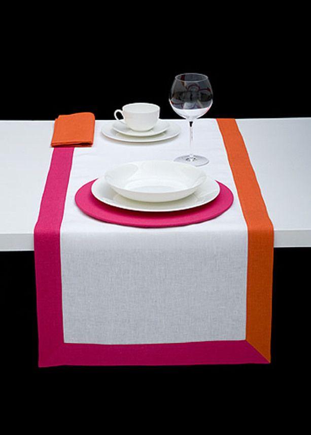 RUNNER 3T - White amber hot pink