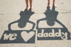 HD: LEYS DO THIS!: Shadows Photo, Photo Ideas, Gifts Ideas, Cute Ideas, Shadows Pictures, Father Day Gifts, Father'S Day, Fathers Day, Photo Gifts