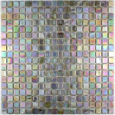 mosaique pate de verre carrelage RAINBOW PERLE par CAPRI