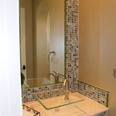 Small Vessel Sink Half Bath Design Ideas Pictures Remodel And Decor Page