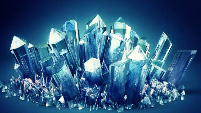 Paduan silikon dan oksigen membentuk kristal silikon dioksida, komposisi yang sama seperti kuarsa mineral yang ditemukan di permukaan bumi.