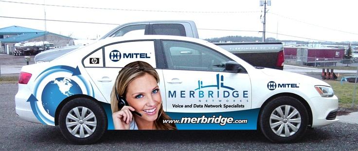 One of @Merbridge Networks new Mitel service vehicles....  Latest design.