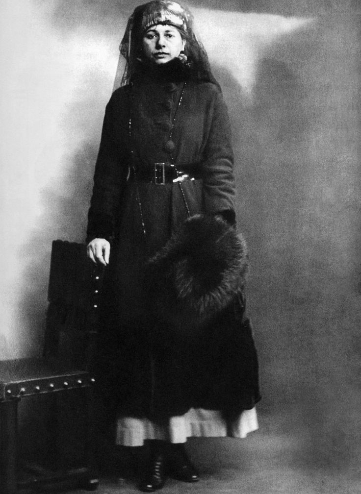 Mata Hari on the day of her arrest