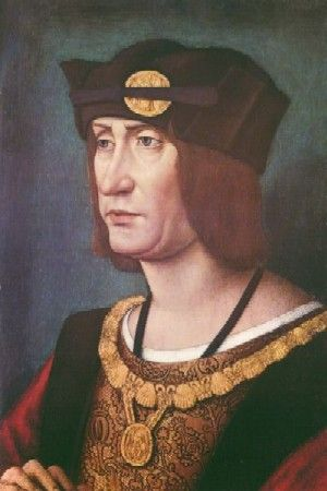 """Людовик XII (1462-1515,король с 1498),худ.Жан Перреаль,Отцом Людовика XII был герц.Карл Орлеанский-велик.франц.поэт (""""Принц-поэт и принц поэтов"""",как назыв.его современники).25 лет он провел в плену у англичан во вр.Столетней войны,где с ним обращал.с большим почетом,но не отпускали,пока не получили выкуп."""