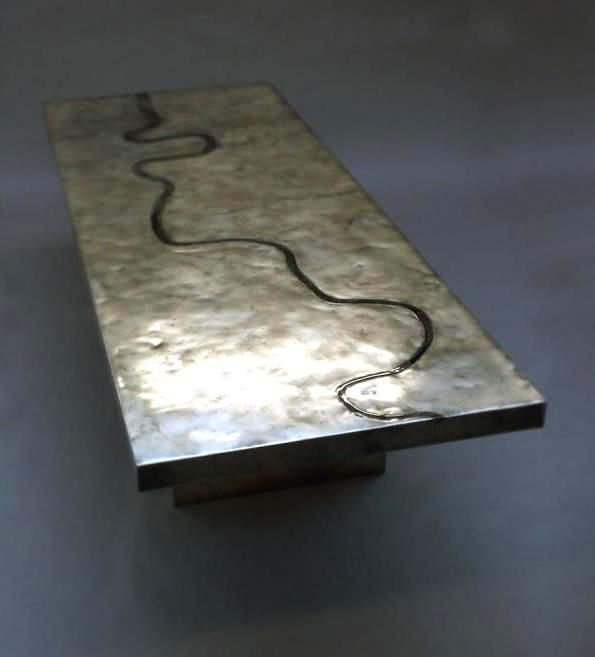 Based Upon   Thames Dining Table #metal