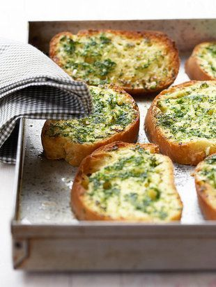Maklike knoffelbrood | WegRy | Easy garlic bread #braai