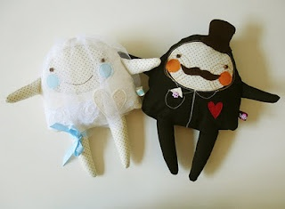 Funny and creative textile dolls by a Hungarian designer