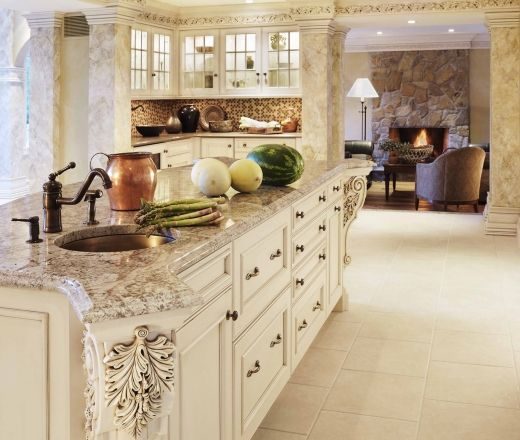 Jay Rambo Kitchen Cabinets: 15 Best Bianco Antico Images On Pinterest