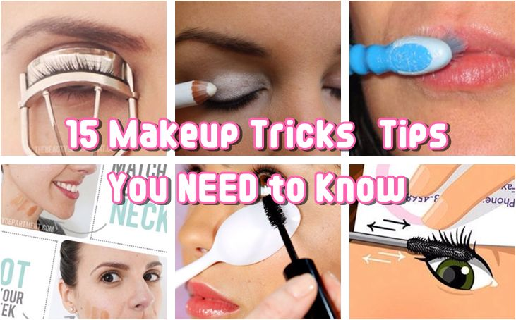 15 Makeup Tricks & Tips You NEED to Know