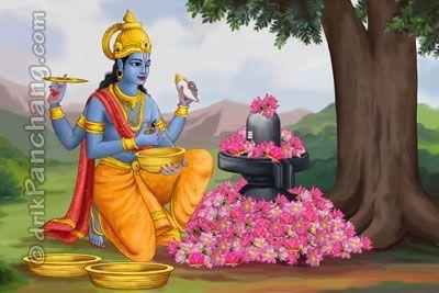 Lord Shiva and Lord Vishnu