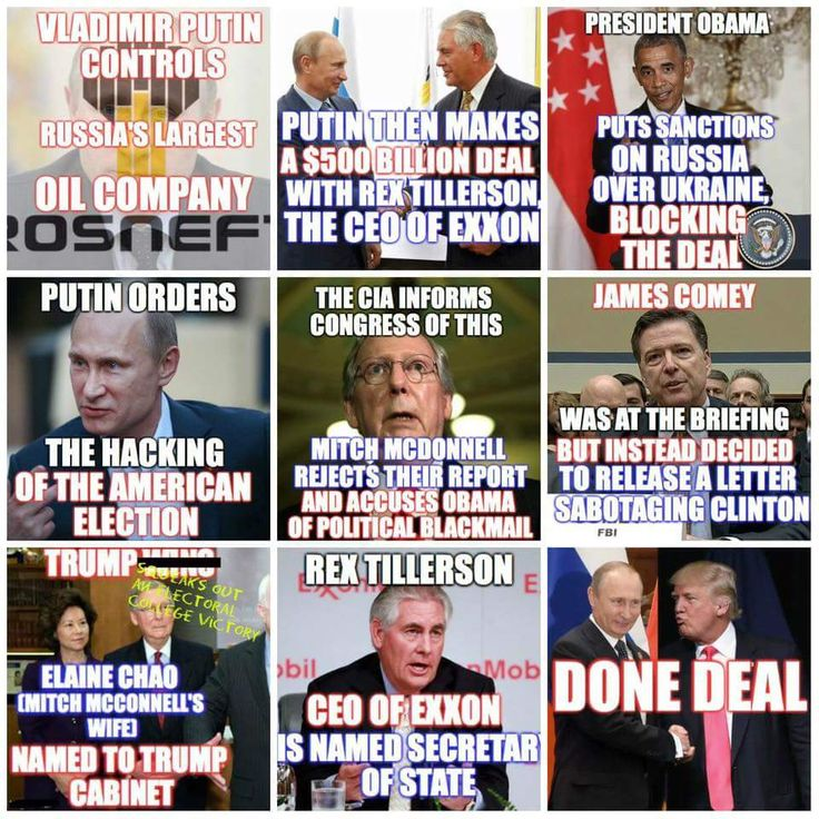 Obama issues sanctions because of Russia's invasion into Ukraine and takeover of Crimean Peninsula... not specifically against Exxon deal, but because historically America has not condoned relationships with criminal thugs.