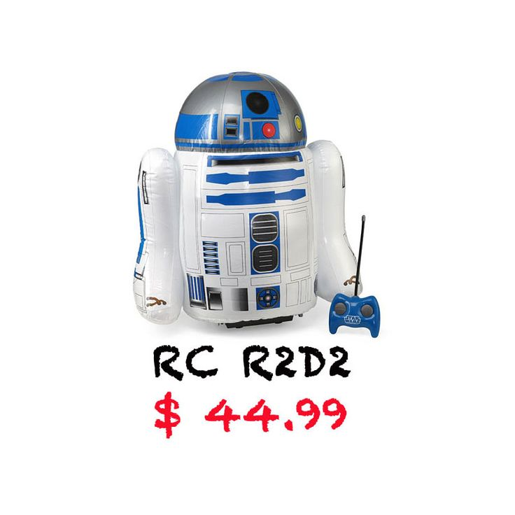 Race the streets with the inflatable radio-controlled R2D2! http://r2d2gadgets.com/rc-r2d2/ #r2d2 #rc #gadgets #starwars