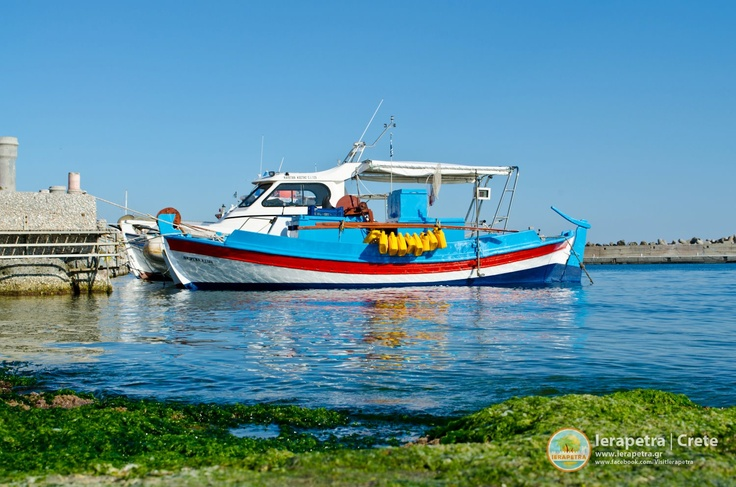 At the small port of #Ierapetra.   | Στο μικρό λιμάνι της Ιεράπετρας.         (CC-BY-SA 3.0)