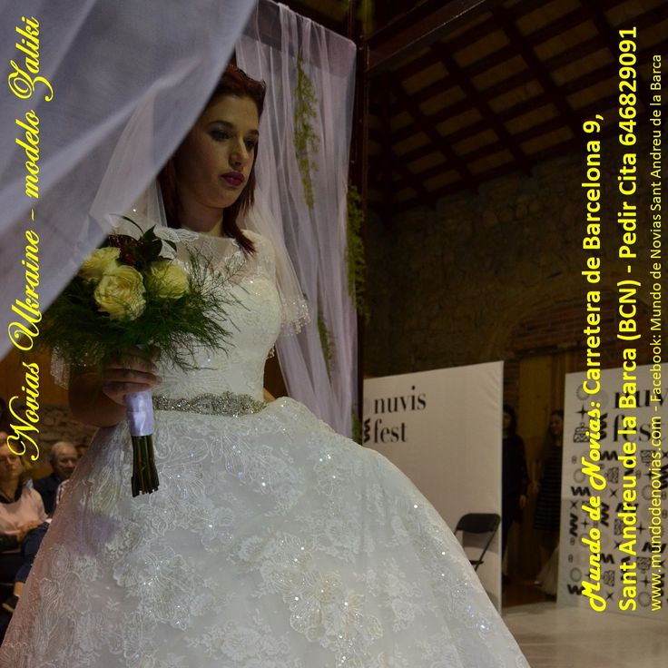 """Precioso, Elegante y Original Vestido Princesa de la colección 2019, fabricado en tul y chantilly con aplique de pedrería, escote corazón, una linda espalda y algo muy interesante: tiene bolsillos. Ideal para lucir como una Verdadera Novia en tu día. Este modelo """"A-101 Zaliki"""" pertenece a la marca """"Atelier Novias Ukraine"""", que puedes adquirir en nuestra tienda Atelier """"Mundo de Novias"""" pidiendo Cita al 646 829091."""