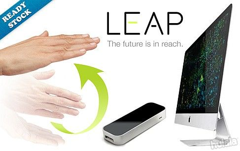 READY STOCK! Leap Motion 3D for Mac or PC! Tracks Movements at a Rate of Over 200 Frames per Second! FREE Peninsular Delivery.