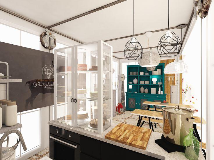 Cozy Scandi Cafe Interior 3d Interior Design Room Planner Cafe Interior