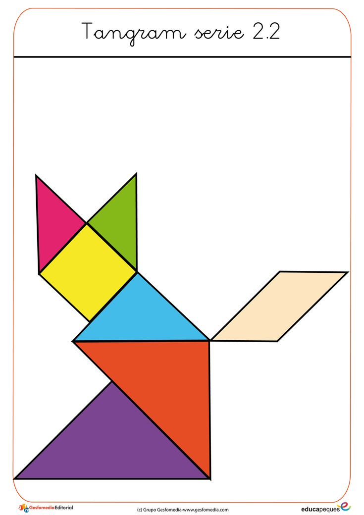1000 Images About Mates Tangram On Pinterest Dieren