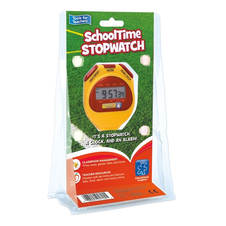 School Time Stopwatch, Clock and Alarm - Educational Toys Planet