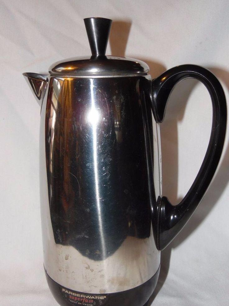 Farberware Superfast Coffee Maker Electric Percolator