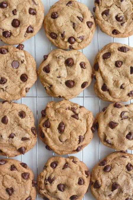 The Neiman Marcus Chocolate Chip Cookie {Secret Ingredient = Instant Espresso Coffee Powder + sub in Dark Chocolate chips or chunks}
