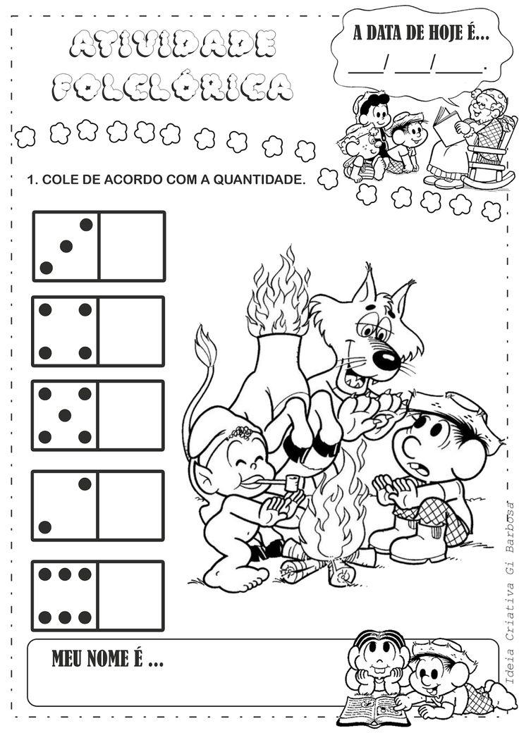 atividades com folclore para educação infantil - Pesquisa Google