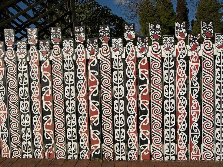 Maori design. Reminds me of home & childhood.