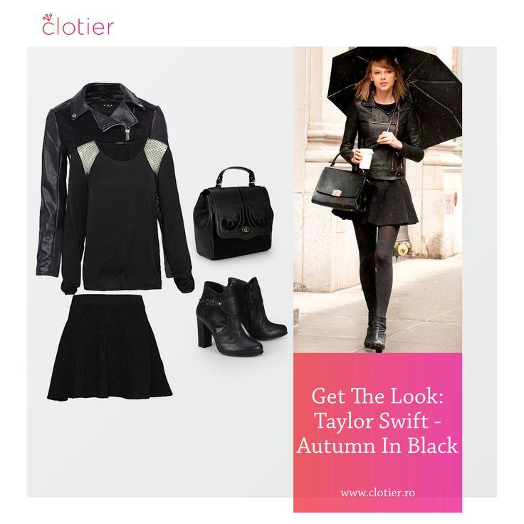 Get The Look: Taylor Swift – Toamna în negru ‹ Clotier  http://www.clotier.ro/blog/2014/11/26/get-the-look-taylor-swift-toamna-in-negru/?utm_source=Pinterest&utm_medium=Board&utm_campaign=Blog%20Clotier&utm_content=Get%20the%20look