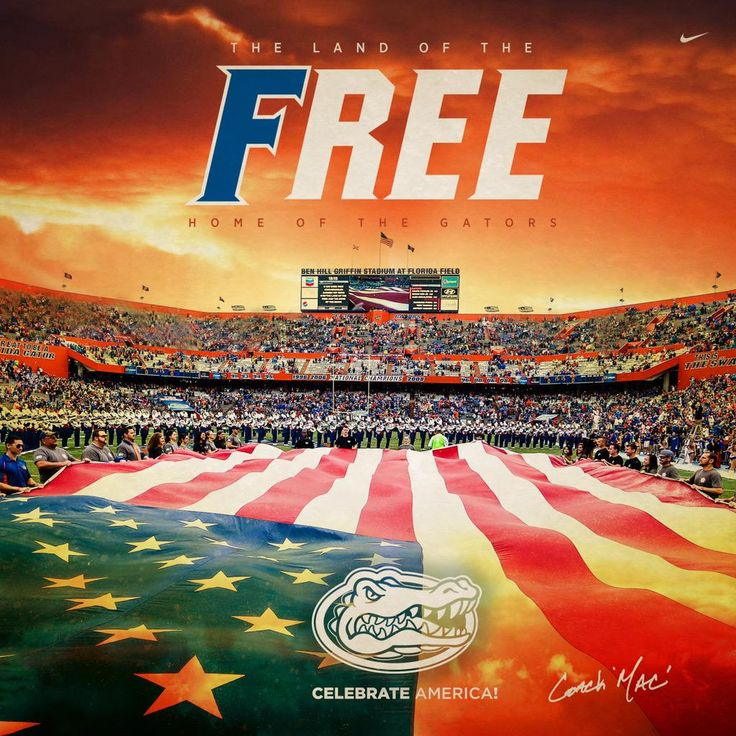 Happy Independence Day! #GoGators