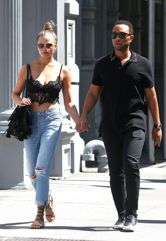 Chrissy Teigen & John Legend from The Big Picture: Today's Hot Pics  The cute couple take a stroll hand-in-hand in New York City.