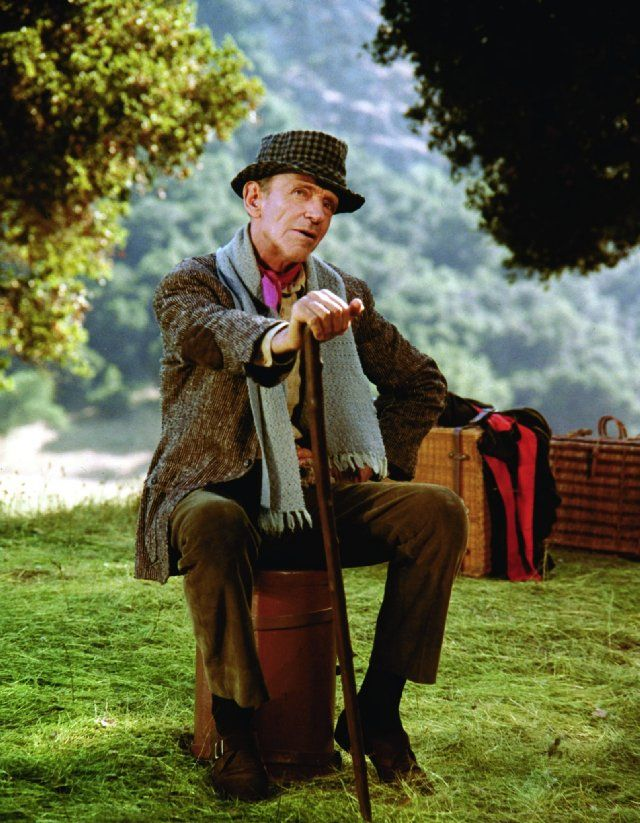 "Finian McLonergan (Fred Astaire): ""Don't be superstitious, it's bad luck."" -- from Finian's Rainbow (1968) directed by Francis Ford Coppola"
