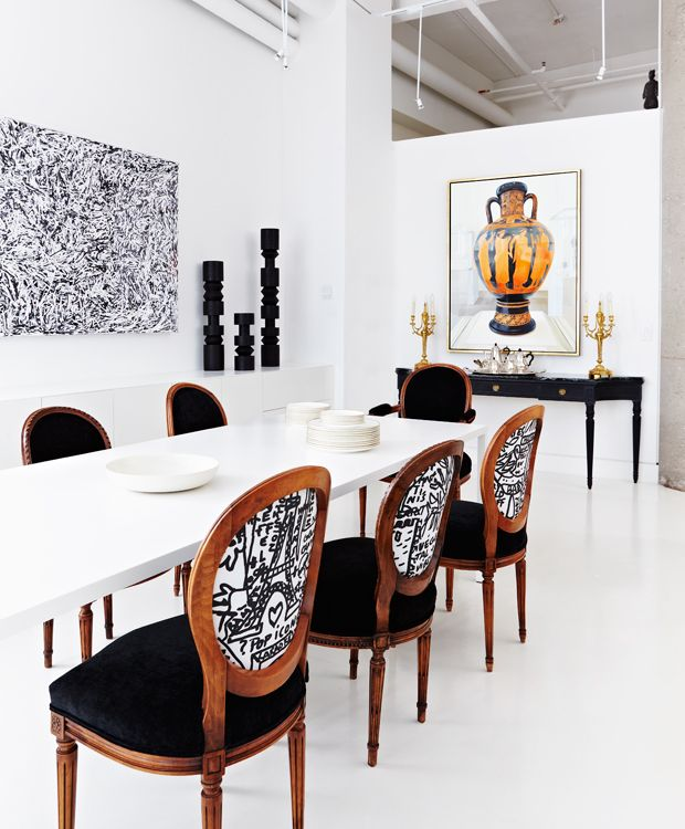 Transform Your Dining Room By Modernizing Vintage Furniture