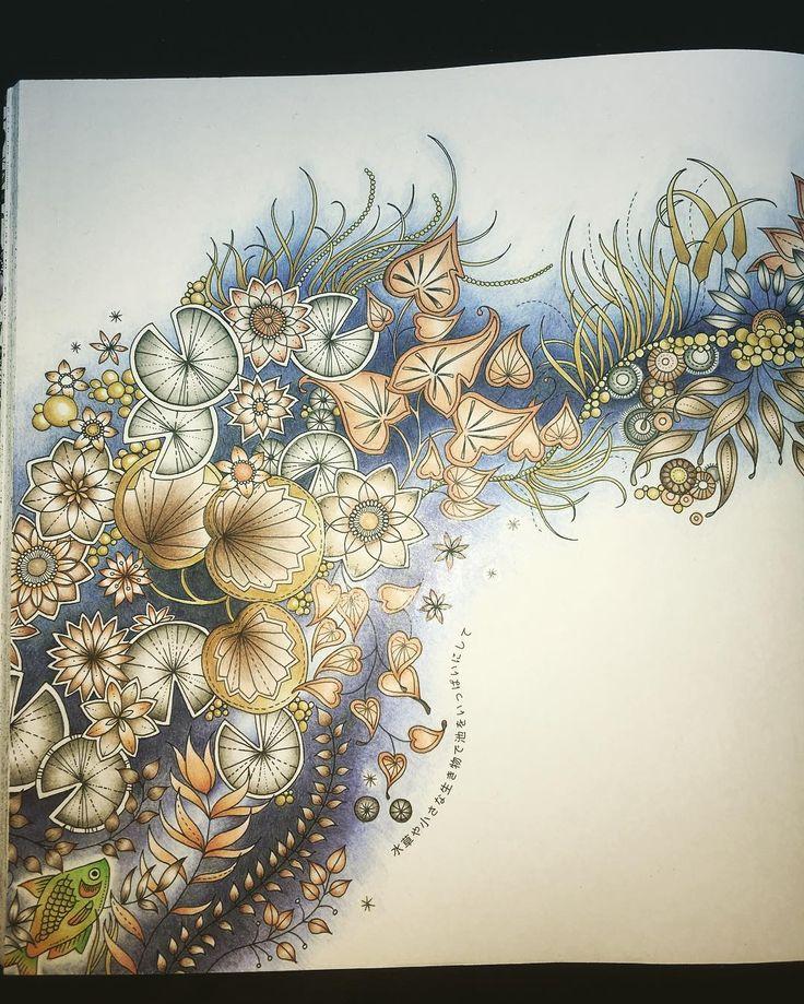 .Beautiful coloring !! | adult coloring.
