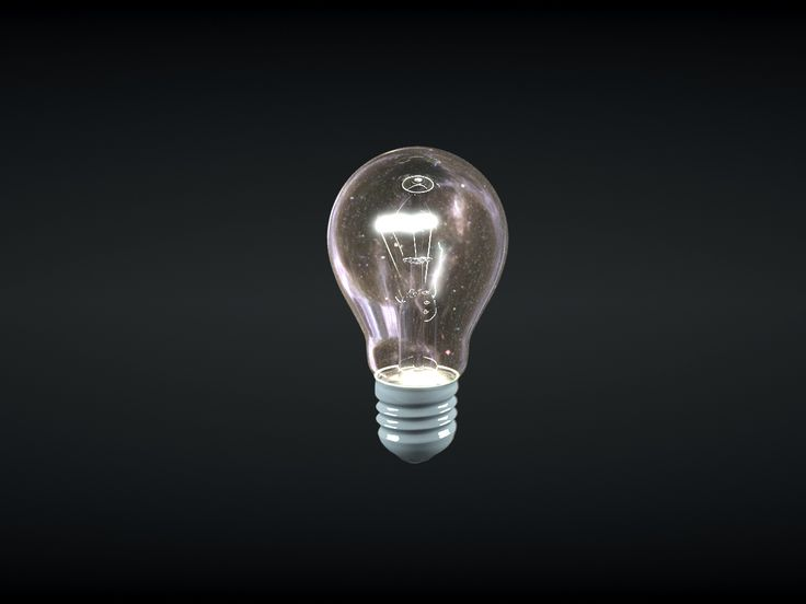 milky way in the light bulb - 3ds max - vray