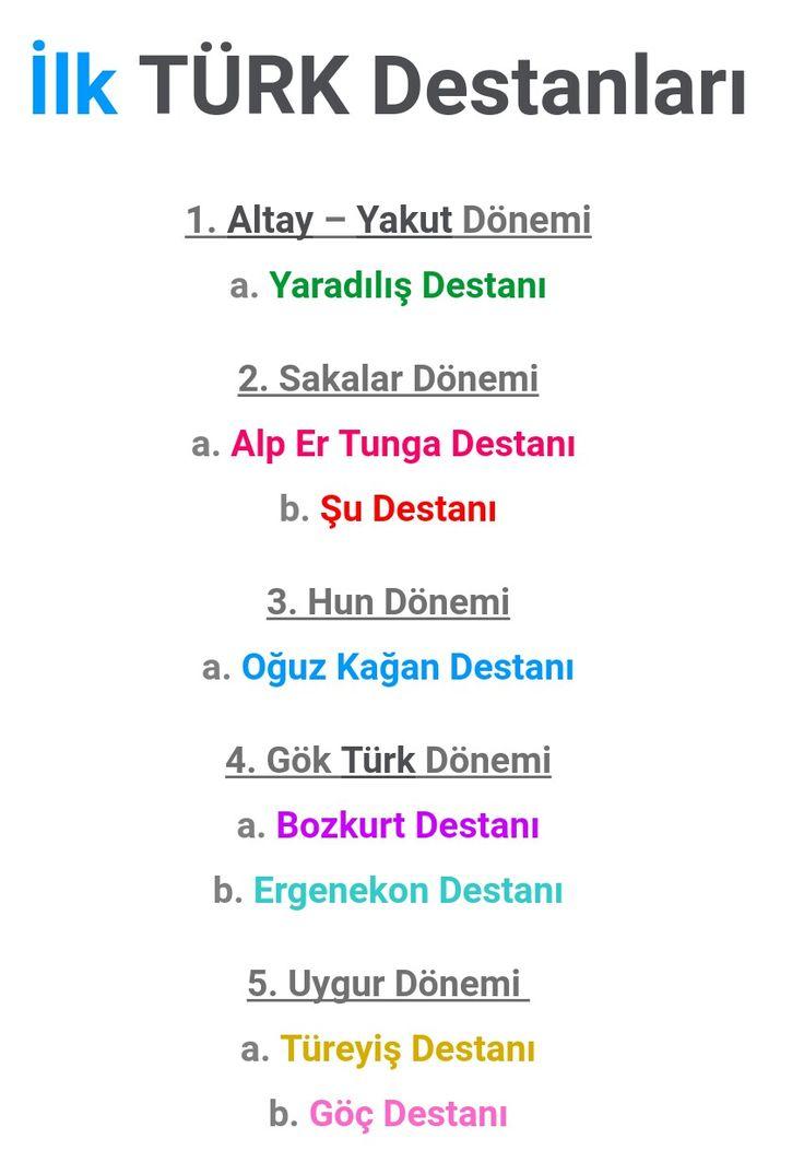 Ilk Türk Destanlari