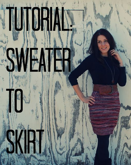 thistles and twigs: Tutorial! Repurpose your Old Sweaters