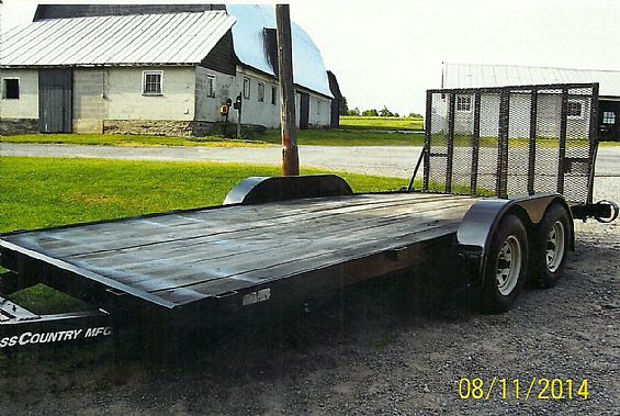 1998 Cross Country Trailer Utility-Landscape Trailers For Sale in NY | Want Ad Digest Classified Ads