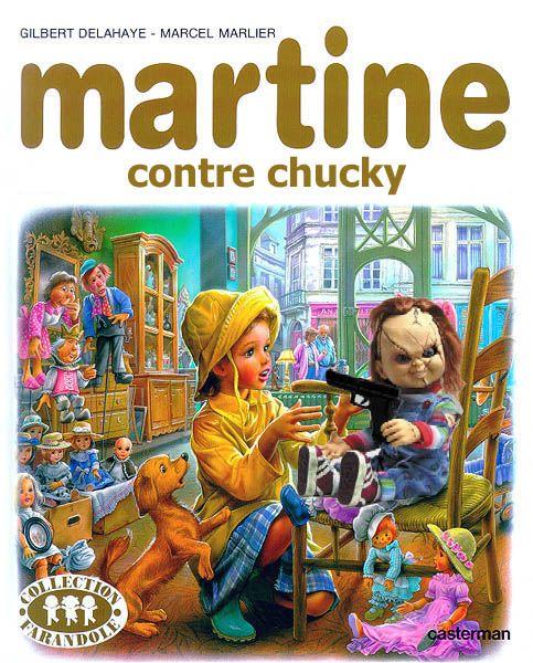 humour noir   humour] Générer vos couvertures de Martine et ses amies...