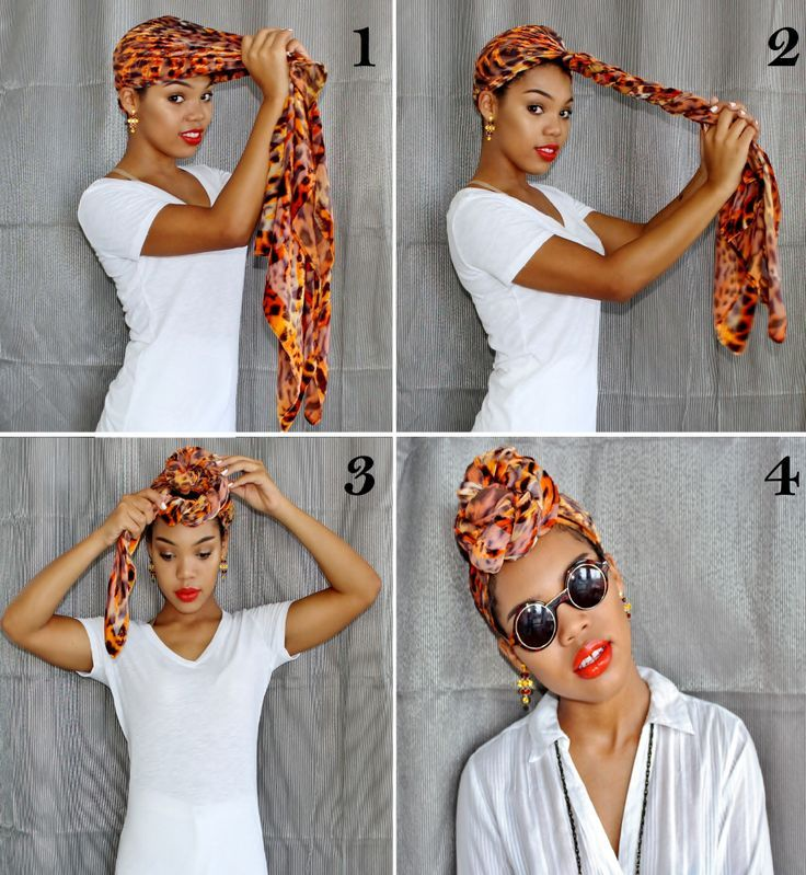 Image result for how to tie a headwrap