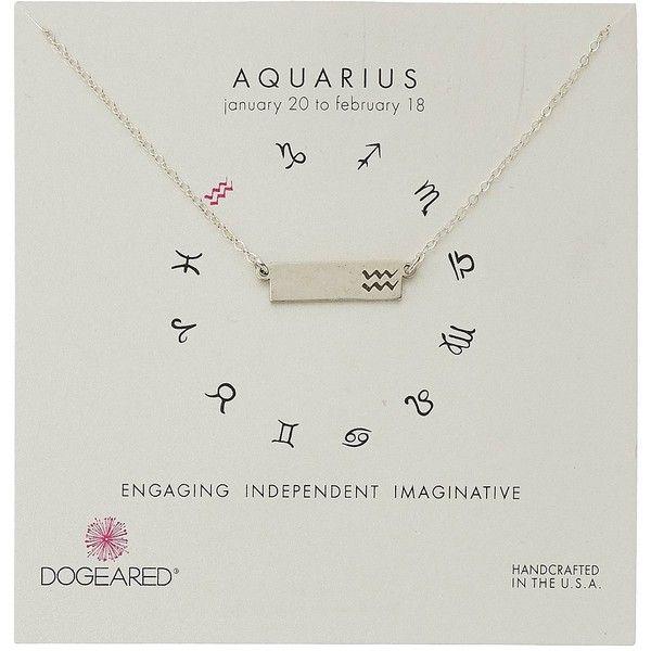 Dogeared Aquarius Zodiac Bar Necklace ($62) ❤ liked on Polyvore featuring jewelry, necklaces, charm pendant necklace, chain pendants, pendant bracelet, charm necklace and pendant chain necklace