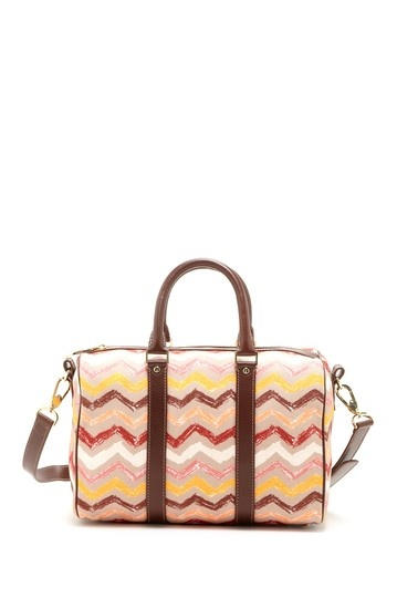 Missoni Chevron Stripe Duffel Bag