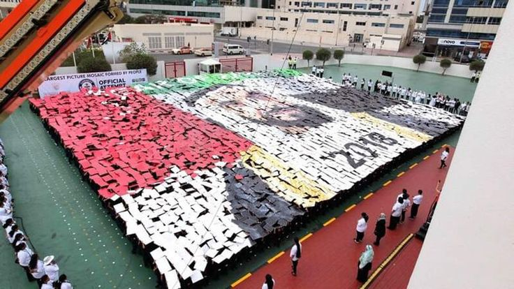 Strong winds stop Dubai school's efforts to create Guinness record