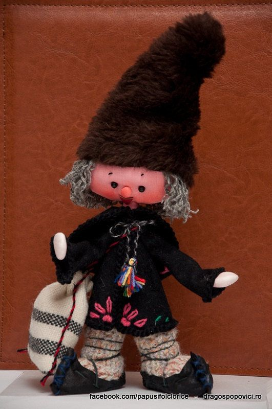 Romanian folk dolls by PapusiFolclorice on Etsy