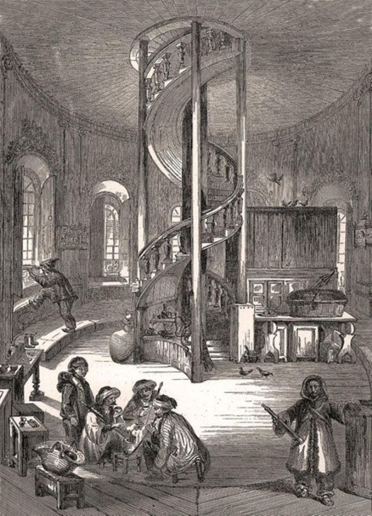Galata Kulesi'nin İçi