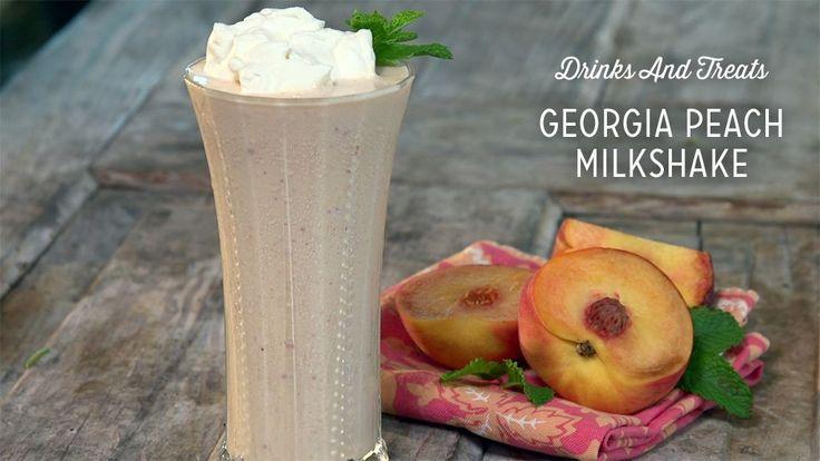 Georgia Peach Milkshake