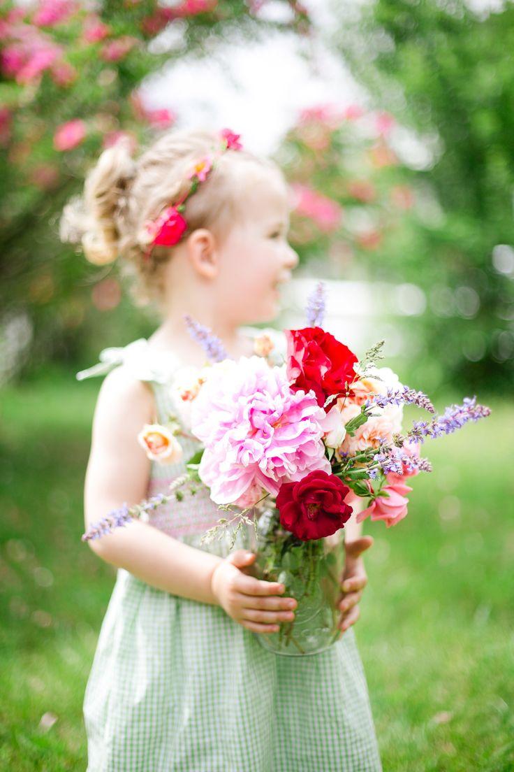 Yard flowers for friends.