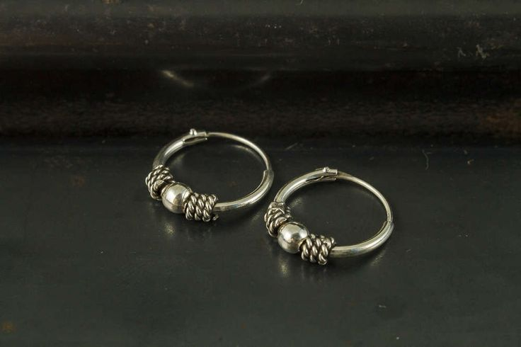 A personal favorite from my Etsy shop https://www.etsy.com/listing/508926438/12mm-bali-hoop-earrings925-sterling