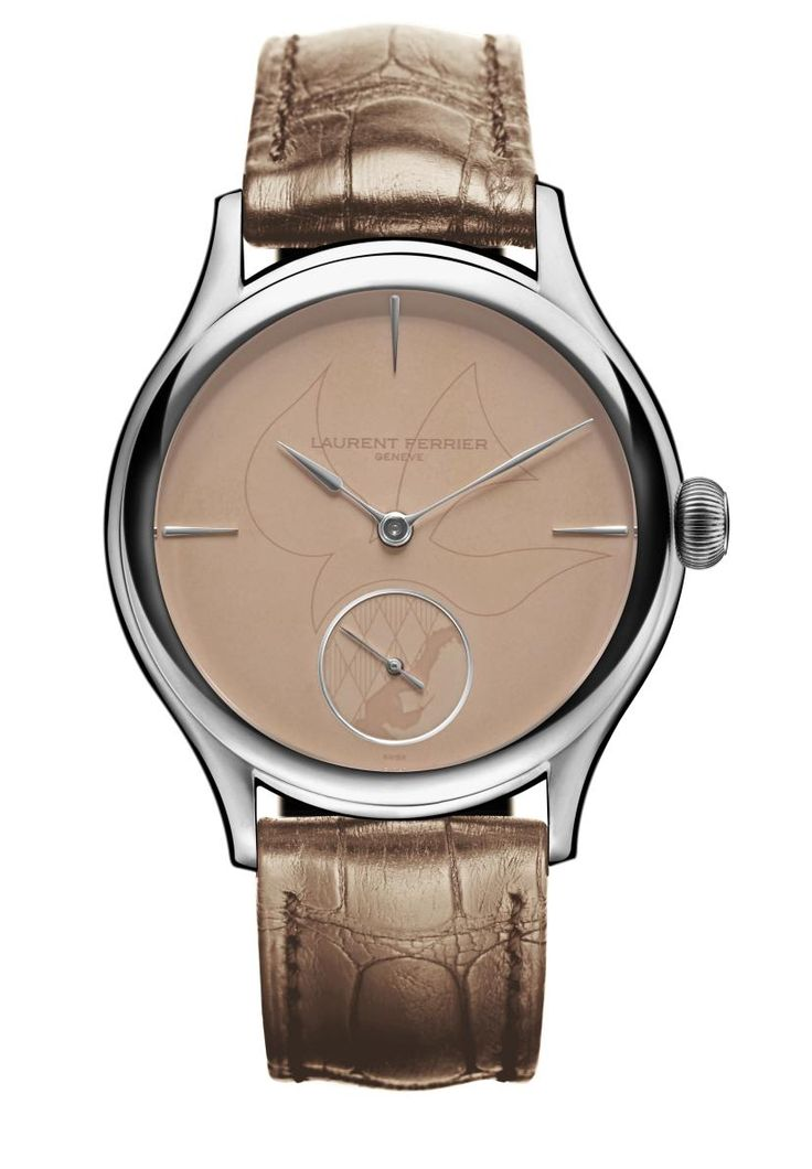 TimeZone : Industry News » Laurent Ferrier Galet Classic Tourbillon Double Spiral for Only Watch