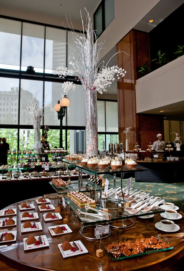 The Langham, Boston's Chocolate Bar Buffet