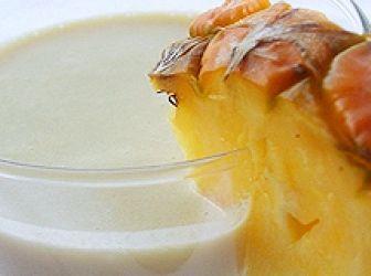 Pina Colada - tofukrémes turmix recept