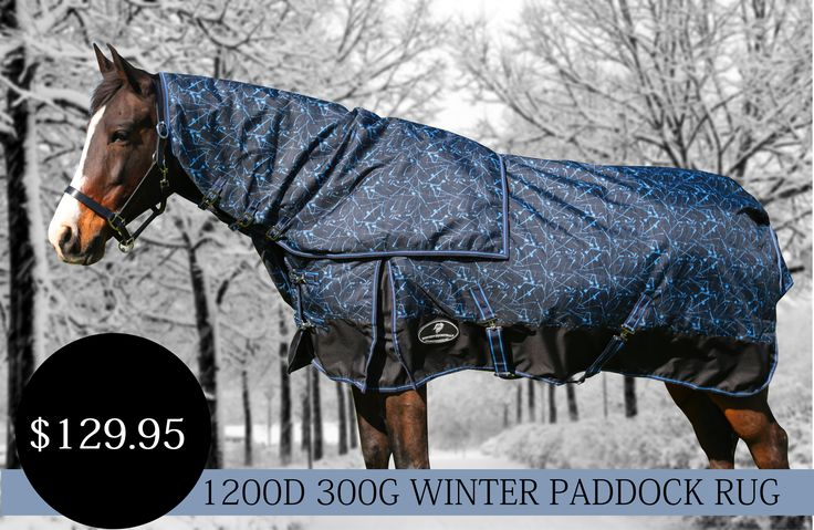 Unicorn Winter 1200 Denier Printed Platinum Rug All Unicorn Synthetic Rugs and Combos are rated to a waterproof rating of at least 3000MM - more than twice the minimum requirements. Our Synthetic Rugs also have have a breathability rating of at least 3500gr/m2/per24hrs.